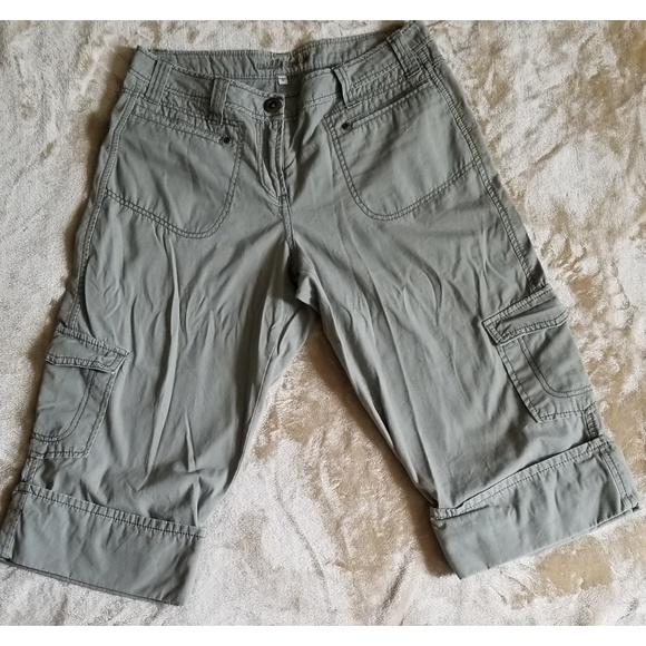 Xoxo Juniors/' Natalie Linen Cropped Flare Pants $59